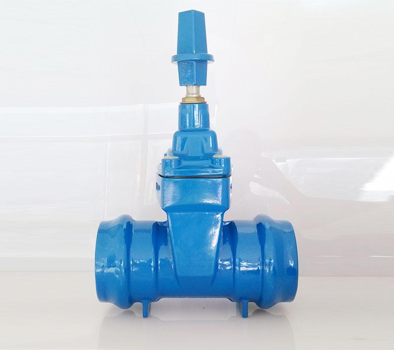 承插式闸阀(用于PVC管)